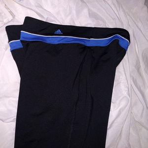 Adidas Climalite Stretch Capris  Fitness Pants